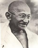 ritratto del Mahatma Gandhi (BN)