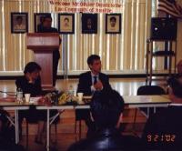 Olivier Dupuis ospite dell'assemblea dei Laotiani degli USA.