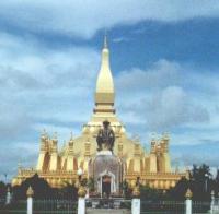 Facciata della pagoda d'oro.