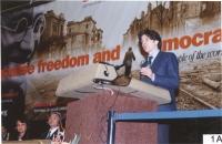 38° Congresso del PR. Marco Cappato alla tribuna.