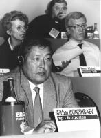 ritratto di Aitbai Konishbaev (Kazakistan) deputato (BN)