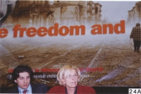 38° Congresso del PR. Alla presidenza: Marco Cappato, Emma Bonino.