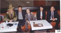 38° Congresso del PR. Olivier Dupuis, Wei Jingsheng, Vo Van Ai, Vanida Thephsouvanh, ???.