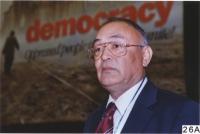 38° Congresso del PR. Elkin Alptekin (Olanda), leader dell'opposizione dell'Est Turkestan - Presidente dell' UNPO