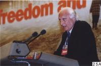 38° Congresso del PR. Marco Pannella, alla tribuna.