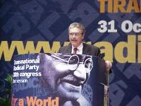 38° Congresso, II sessione. Danilo Quinto, tesoriere del PR.