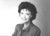 ritratto di Ilaria Occhini (BN) attrice