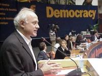 38° Congresso, II sessione. Sergio D'Elia, e scorcio della presidenza.