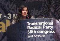 38° Congresso, II sessione. Rebeka Dremelj, Miss Slovenia 2001
