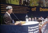 38° Congresso del PR, II sessione. Enver Can, presidente del Congresso dell'Est Turkestan.