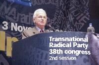 38° Congresso del PR, II sessione. Intervento di Adem Demaci.