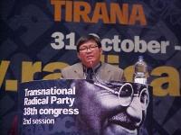 38° Congresso del PR. Son Chaay, membro del parlamento cambogiano.
