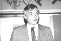 ritratto di Erno Borbely (Romania) ex deputato. (BN)