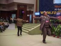 38° Congresso del PR, II sessione. Danzatori uiguri.