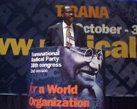 38° Congresso del PR, II sessione. Peter Adeyomo, The Deputy Chairman of Senate Committee on Privatization, Nigeria