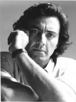 ritratto di Luca Barbareschi (BN) attore