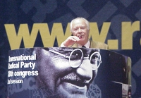 38° Congresso del PR, II sessione. Fausto Ferzetti, esperantista.