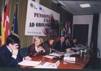 Convegno: PENSIONI UNA BOMBA AD OROLOGERIA promosso dalla Lista Bonino presso la Sala delle Bandiere (Parlamento Europeo). Convegno: PENSIONI UNA BOMB