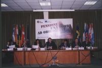 Convegno: PENSIONI UNA BOMBA AD OROLOGERIA promosso dalla Lista Bonino presso la Sala delle Bandiere (Parlamento Europeo).