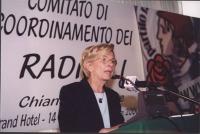 Comitato di Coordinamento dei Radicali. Emma Bonino.