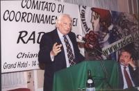 Comitato di coordinamento dei Radicali. Marco Pannella.