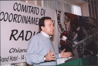 Comitato di coordinamento dei Radicali Italiani. Ernesto Caccavale.