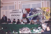 Comitato di Coordinamento dei Radicali. Da sinistra a destra: Marco Pannella, Danilo Quinto, Daniele Capezzone, Maurizio Turco, Emma Bonino, Marco Cap