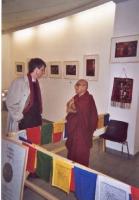 Olivier Dupuis ospite dell'associazione Drôme-Ardèche Tibet, in occasione della Quinzaine du Tibet.