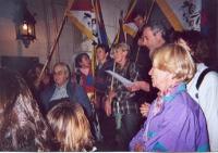 Manifestazione in occasione della Quinzaine du Tibet, organizzata dall'associazione Drôme-Ardèche.