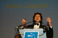 """Marco Cappato, eletto """"europeo dell'anno"""", da un sondaggio del giornale """"European Voice""""."""