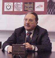 Corrado Carnevale  (già Presidente della I sezione della Corte di Cassazione), partecipa alla presentazione del libro di Sergio D'Elia e Maurizio Turc