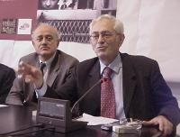 """Antonio Martone (già Presidente dell'Associazione Nazionale Magistrati), partecipa alla presentazione del libro di Sergio D'Elia e Maurizio Turco """"Tor"""
