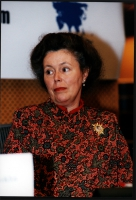 "Marie Holzman, sinologa, alla conferenza: ""South-East Asia - Democracy Denied, Freedoms suppresses"". (3 copie)"
