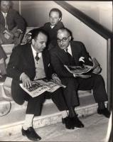 Arrigo Benedetti e Francesco Libonati.