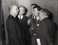 Primo a sinistra: Bruno Villabruna.