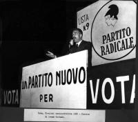 Elezioni amministrative. Comizio di Leone Cattani.