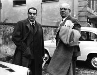 Bruno Visentini e Leo Valiani.