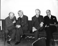 Francesco Messineo, Ernesto Rossi, Leopoldo Piccardi, Bruno Villabruna.