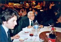 Marco Cappato a cena con Tran Binh Tinh, presidente della comunità dei vietnamiti nazionalisti liberi in Francia.
