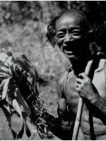Un anziano montagnard negli anni 60.