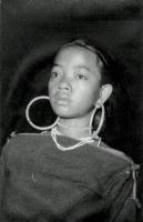 Una ragazza montagnard negli anni Sessanta.