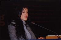 38° Congresso, II sessione. Rebeka Dremelj, Miss Slovenia 2001.