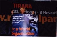 38° Congresso, II sessione. Emma Bonino alla tribuna.