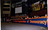 38° Congresso, II sessione. Vista del tavolo di presidenza,