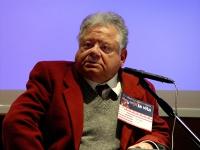 Bruno Trescari, al Primo Congresso dell'Associazione Luca Coscioni per la libertà di ricerca scientifica.