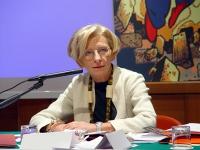 Emma Bonino, al Primo Congresso dell'Associazione Luca Coscioni per la libertà di ricerca scientifica.