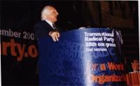 38° Congresso, II sessione. Marco Pannella.