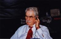 38° Congresso, II sessione. Arnold Trebach,  presidente della Trebach foundation, presidente della Lega Internazionale Antiproibizionista.