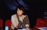 38° Congresso, II sessione. Vanida Thephsouvanh, presidente del Movimento Lao per i diritti umani.