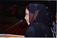 38° Congresso, II sessione. Soraya Rahim, vice-ministro delle Donne nel governo afghano.